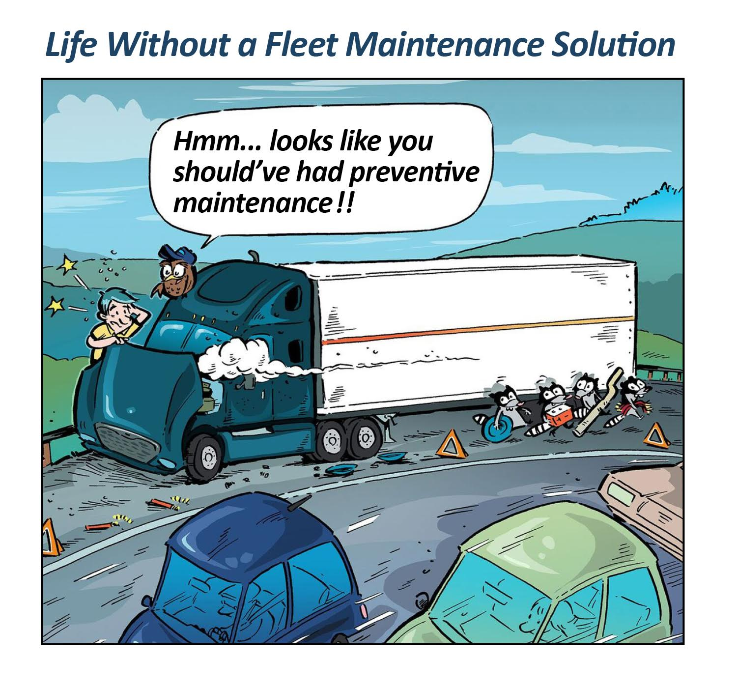 TMW FleetCheck Fleet Maintenance Software helps manage your small transportation fleet in the cloud.