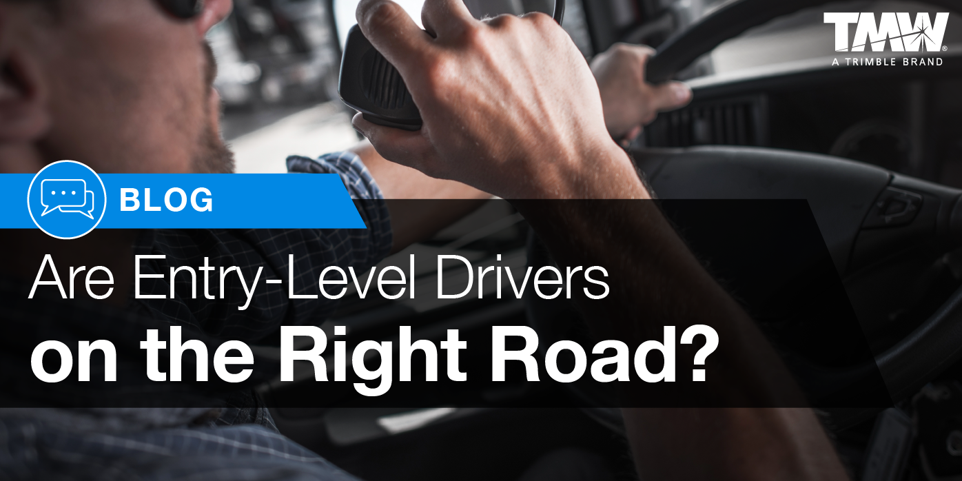 Are Entry-Level Truck Drivers on the Right Road?